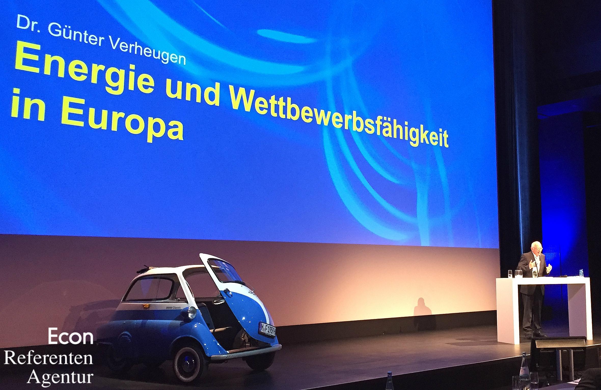 ECON Redner Guenter Verheugen Vortrag Energie und Wettbewerbsfaehigkeit in Europa 131016