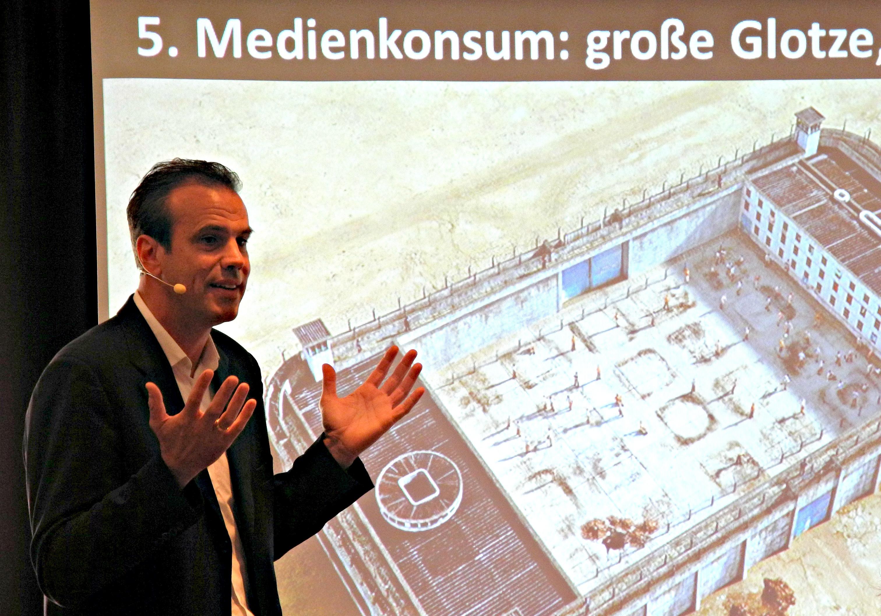 Redner Christian Baudis Econ Vortrag