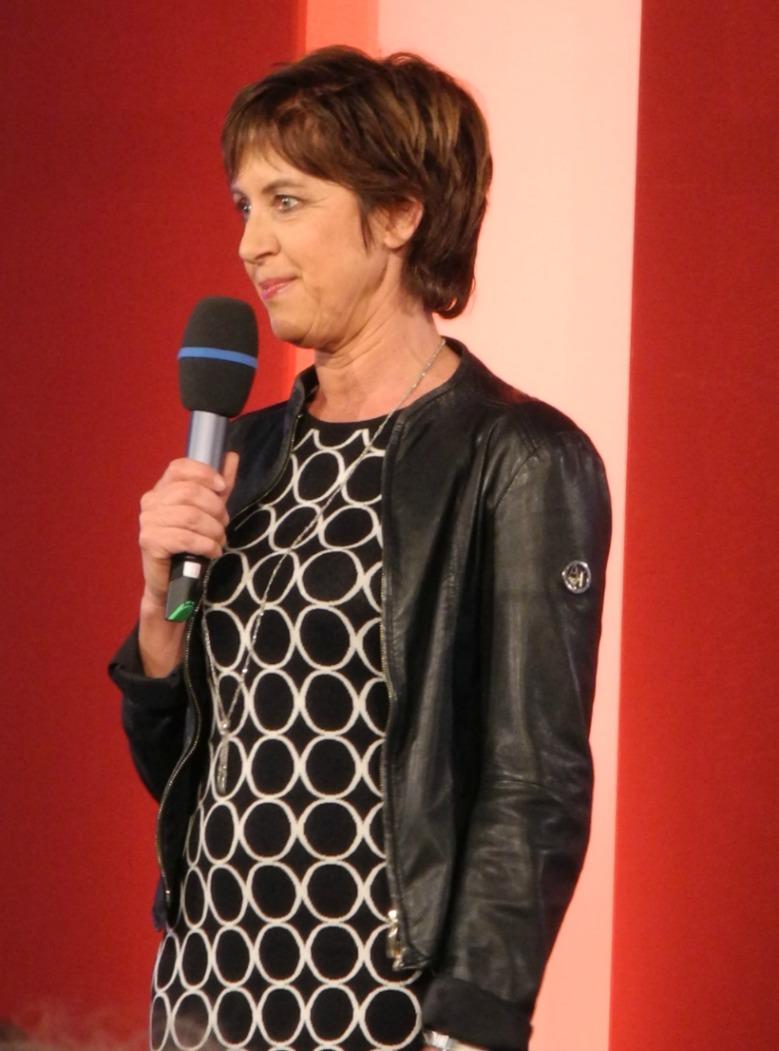 ECON Redner Ursula Heller moderiert Diskussion mit Thilo Bode