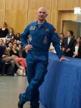Astronaut Alexander Gerst Vortrag Mission Blue Dot
