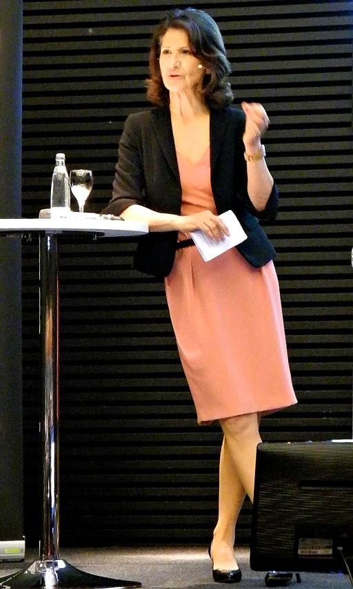 Vortrag von ECON Redner Antonia Rados über den Nahen Osten