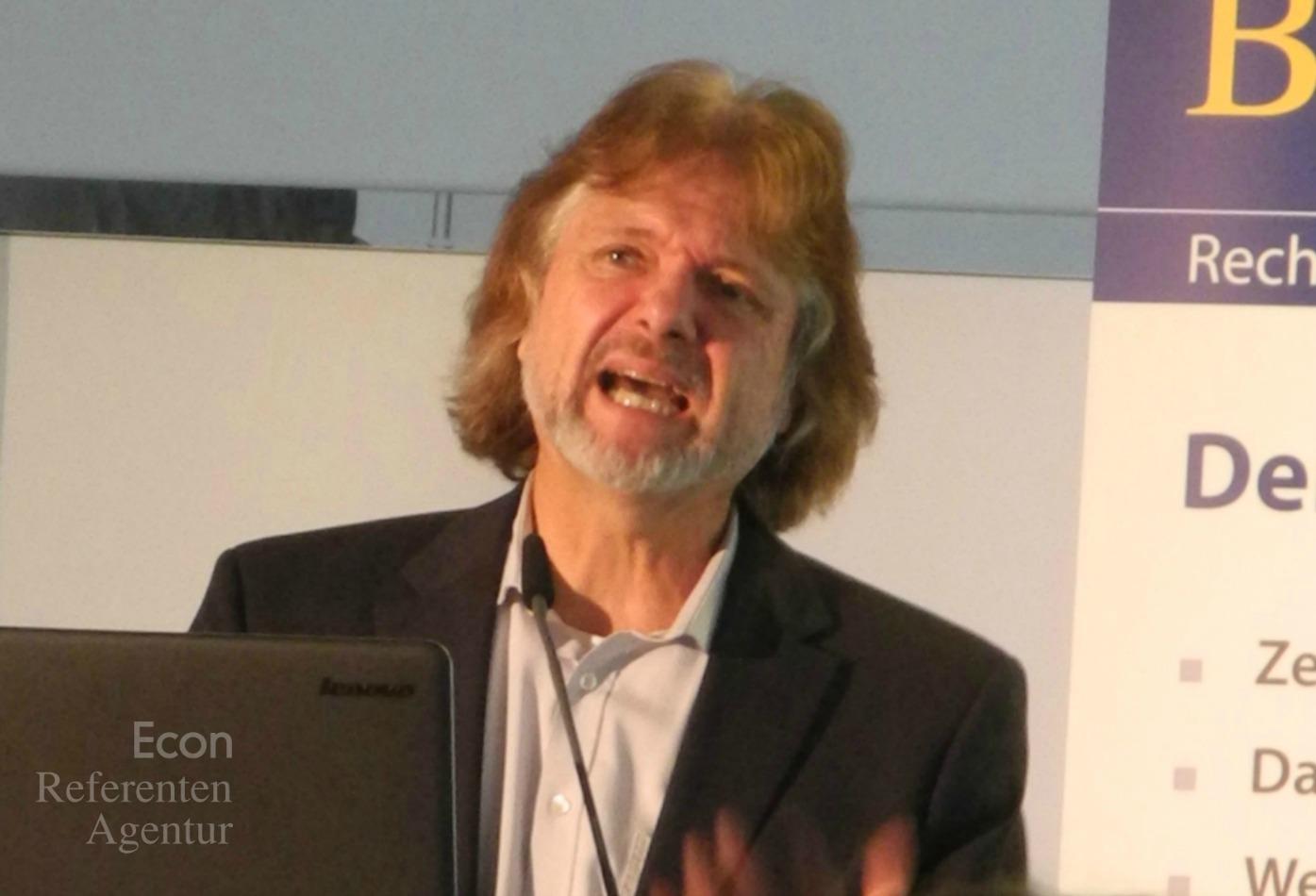 ECON Redner Arved Fuchs Vortrag Grenzen sprengen