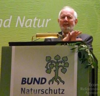 ECON Redner Ernst Ulrich von Weizsäcker erhält Bayerischen Umweltpreis