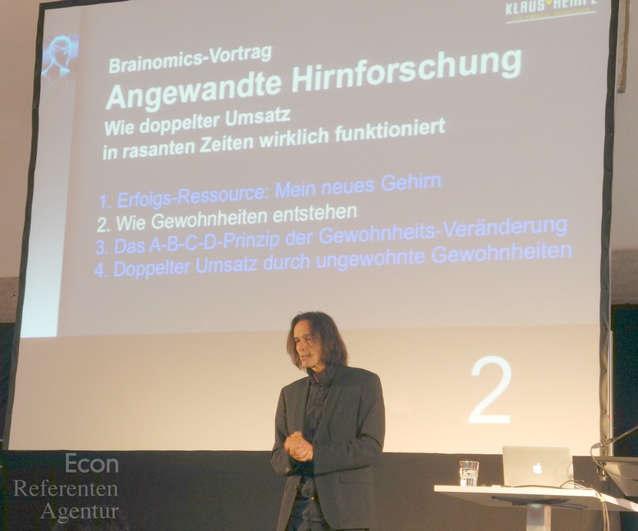 ECON Redner Klaus Rempe Vortrag angewandte Hirnforschung