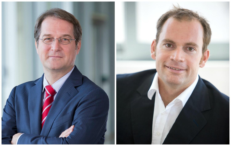 ECON Redner Dominik Neidhart und Volker Wieland