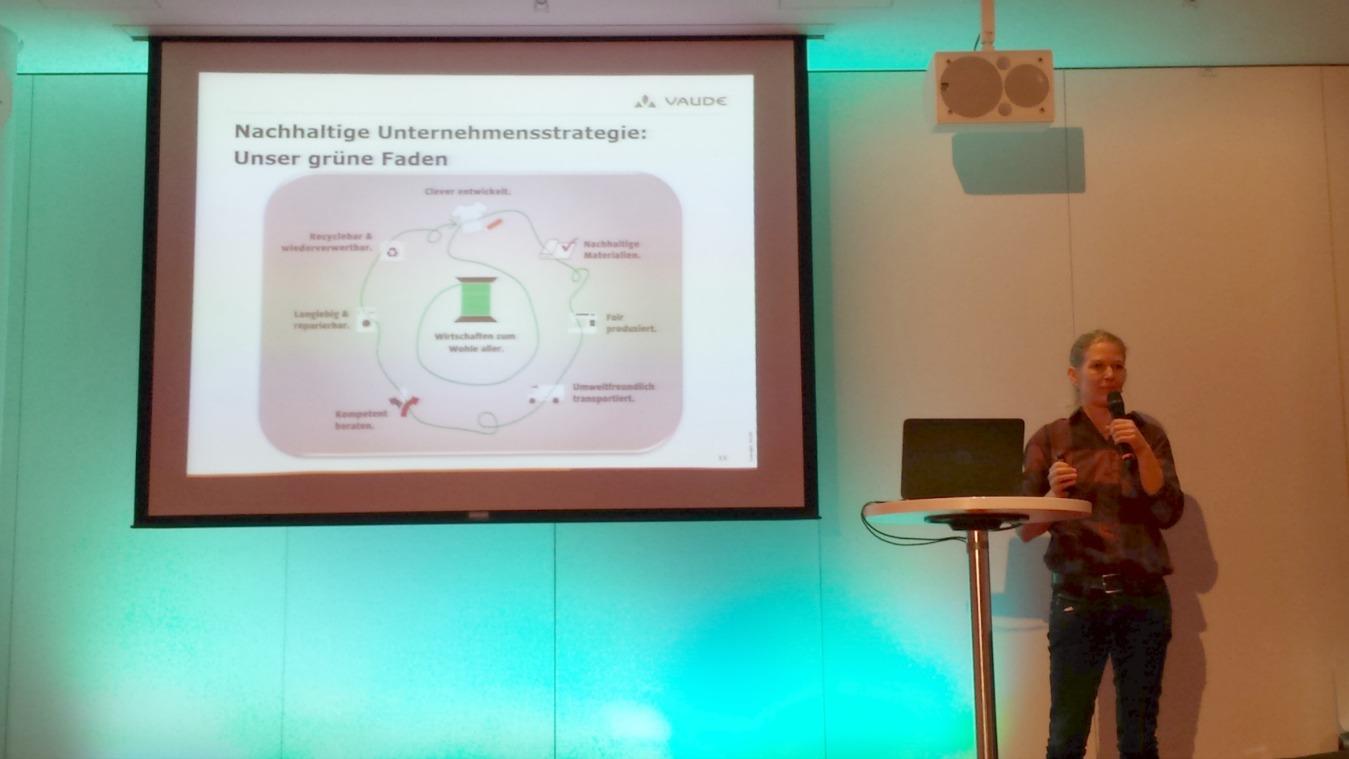ECON Referenten Antje von Dewitz Vortrag Nachhaltigkeit