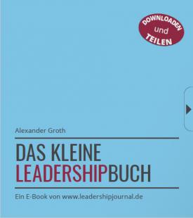ECON Redner Alexander Groth Titelseite Leadership Buch