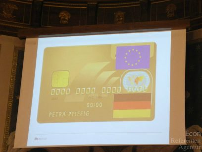 ECON Redner Clemens Fuest Goldene Kreditkarte