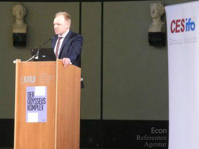 ECON Redner Clemens Fuest Vortrag Odysseuskomplex