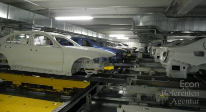 ECON Karosserien in BMW-Lackiererei