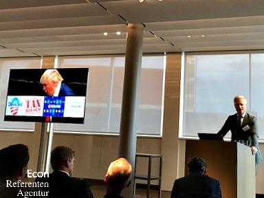 Econ Redner Markus Koch Vortrag 6 Monate Trump
