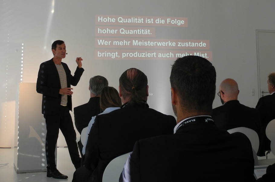 ECON Redner Peter Kreuz Vortrag Zuendstoff fuer Andersdenker