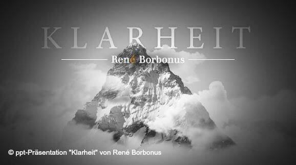 ECON Redner Rene Borbonus Vortrag Klarheit