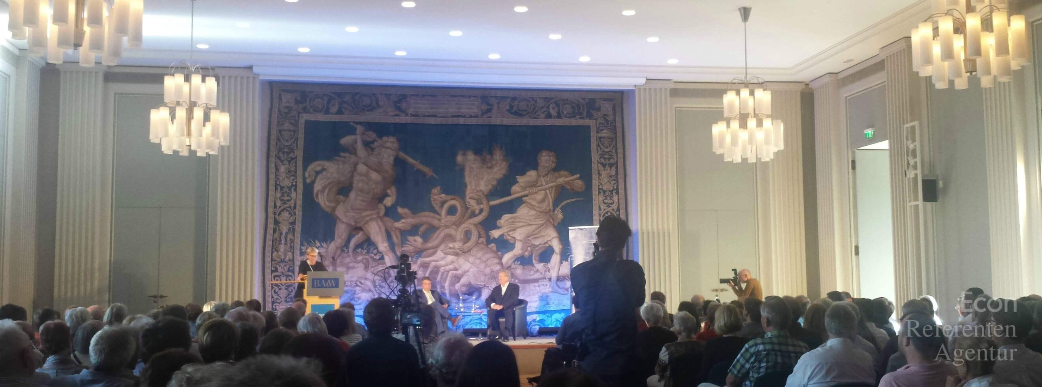 ECON Redner Sigmar Gabriel Veranstaltung in München
