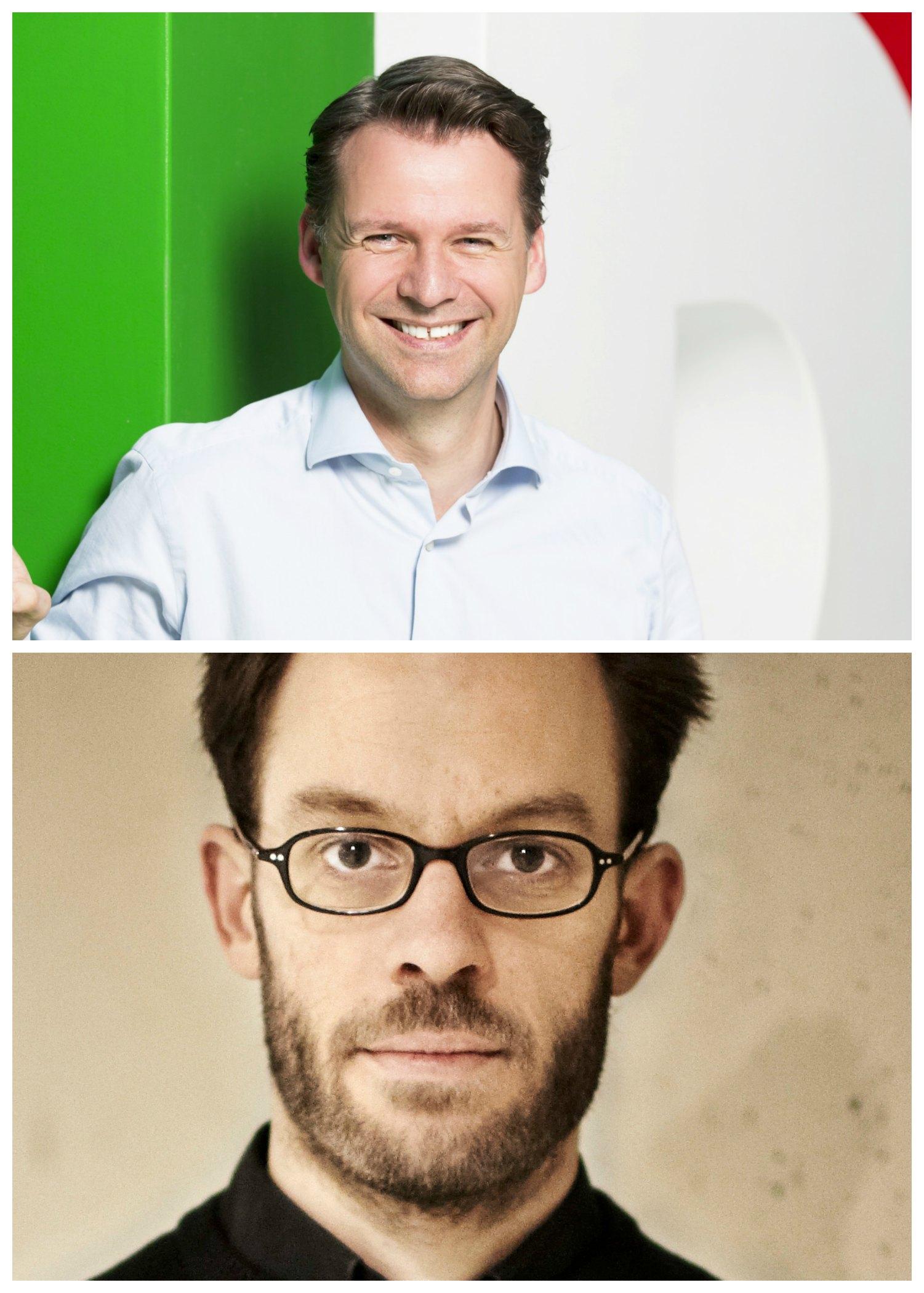 Econ Redner Tobias Kollmann und Daniel Domscheit-Berg