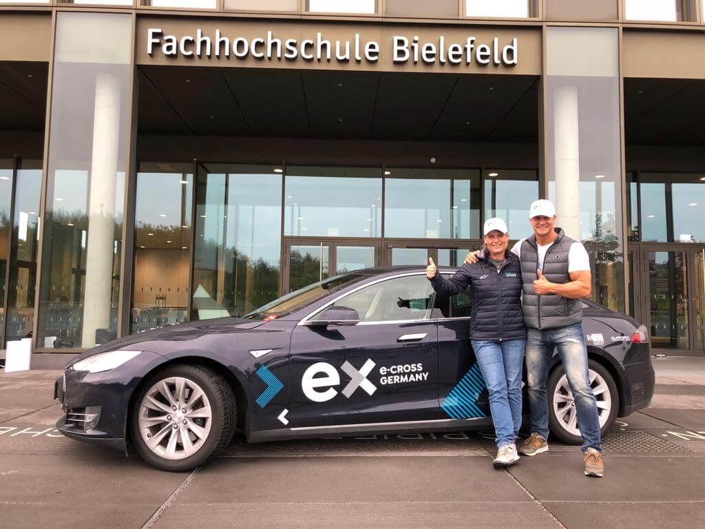 ECON Redner Jutta Kleinschmidt Foto von ecross Germany