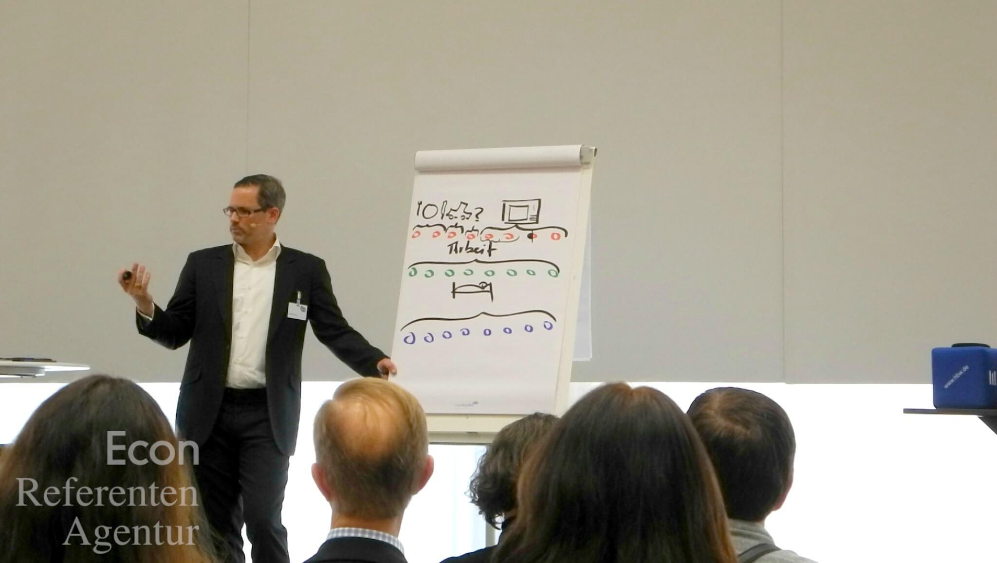 ECON Redner Alexander Groth Vortrag Glück