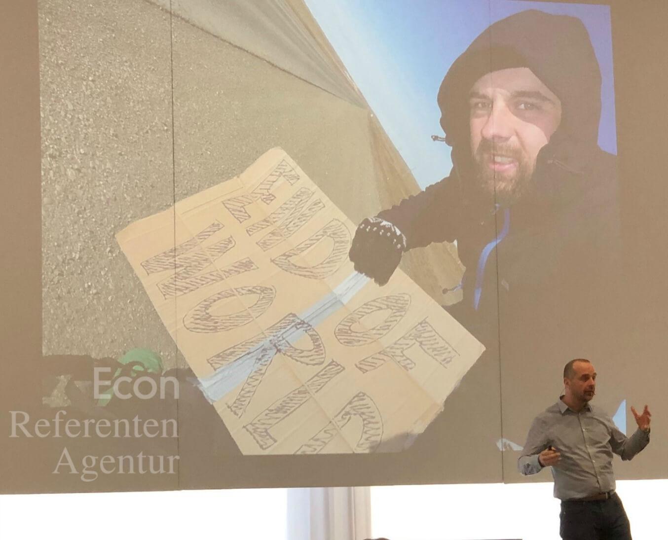 ECON Redner Michael Wigge Vortrag Eventtag