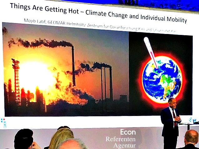 ECON Redner Mojib Latif Vortrag Klimawandel 7.2.19