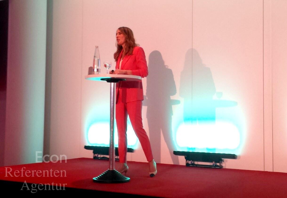 ECON Redner Anja Kohl Vortrag Wissensforum