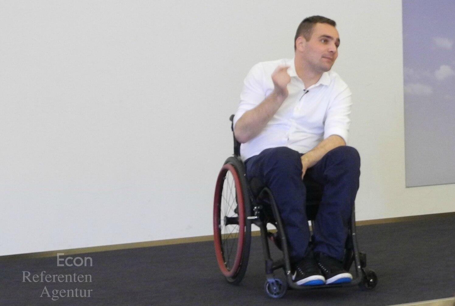 ECON Redner Sebastian Waechter Vortrag Change