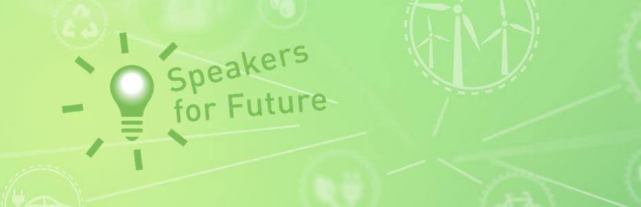 Speakers for Future Grafik Newsletter