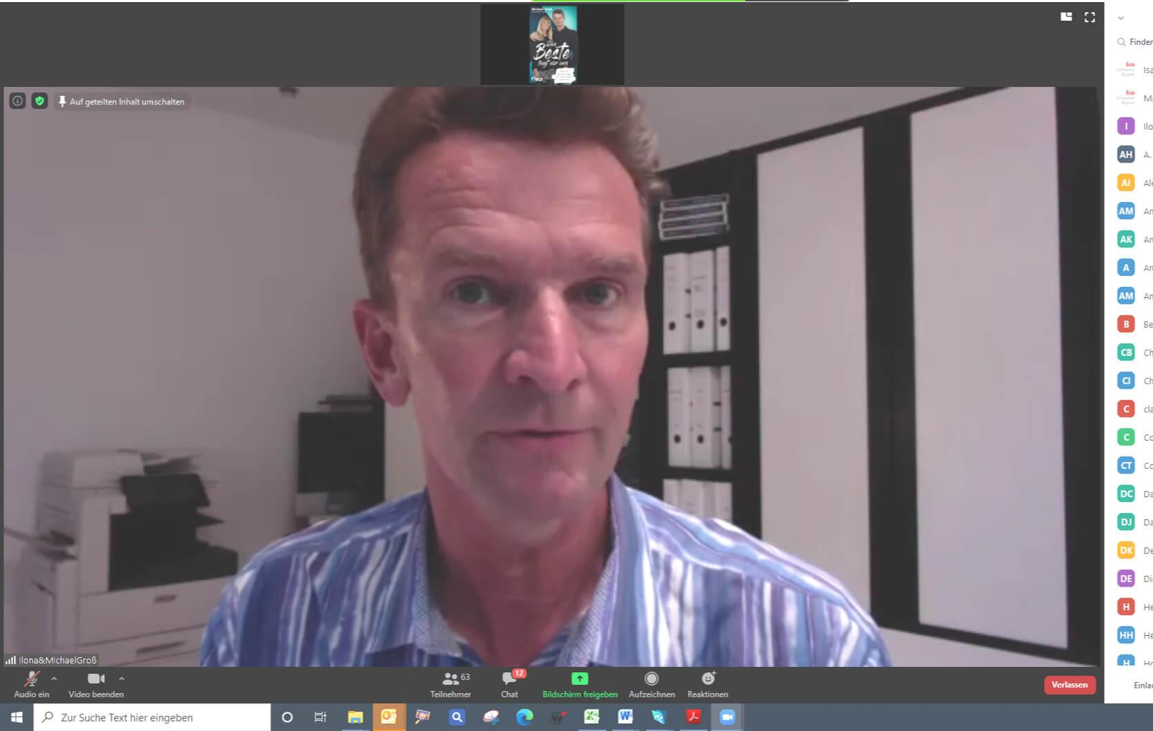 Econ Redner Michael Gross Online-Vortrag