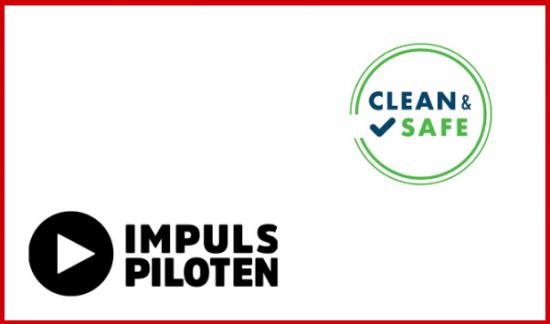 Logos Econ Partner Impulspiloten udn Clean and Safe