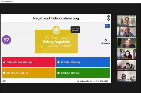 ECON Referenten-Agentur Megatrendquiz