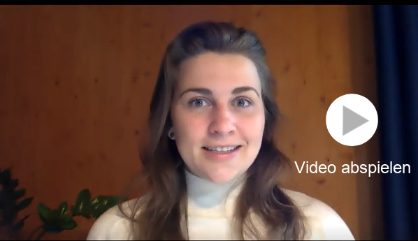 Startbild des Video-Interviews mit Econ-Rednerin Rebecca Freitag